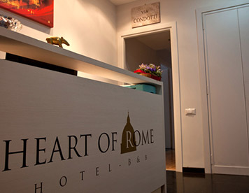 Heart of Rome Hotel B&B Roma
